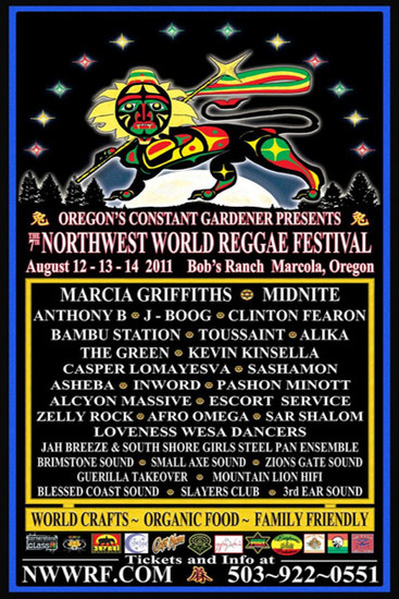NW World Reggae Festival 2011