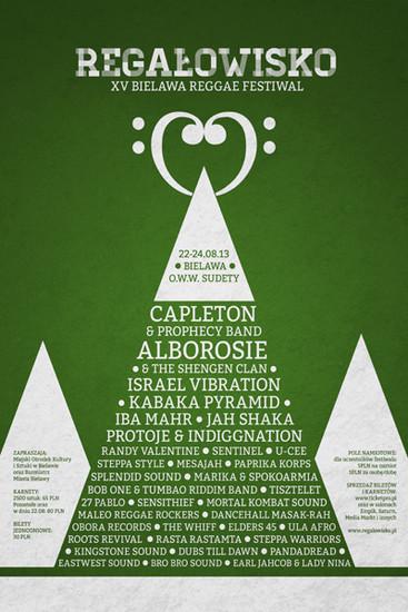 Regalowisko Bielawa Reggae Festival 2013