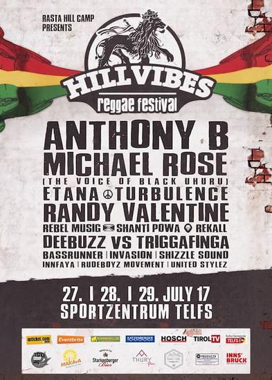 Hill Vibes Reggae Festival 2017