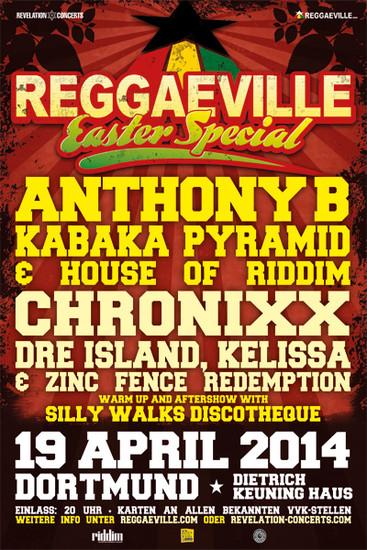 Reggaeville Easter Special - Dortmund 2014