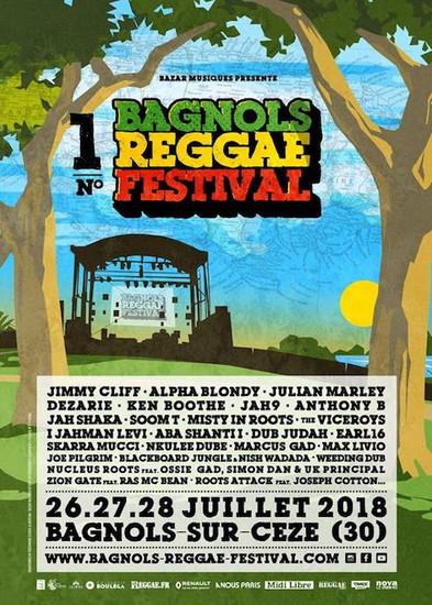 Bagnols Reggae Festival 2018