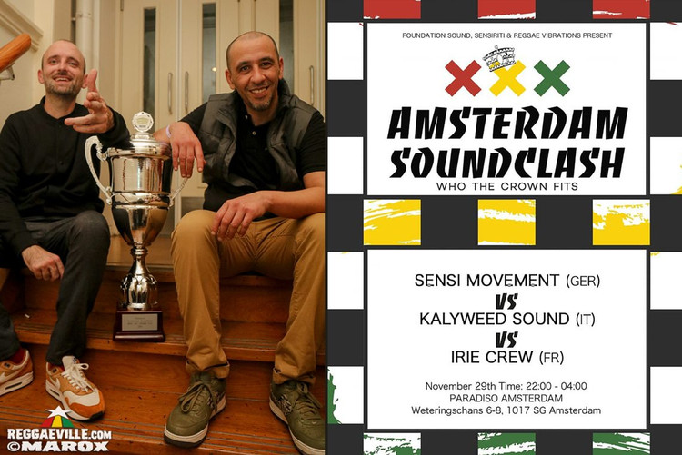Sensi Movement vs Kalyweed Sound vs Irie Crew