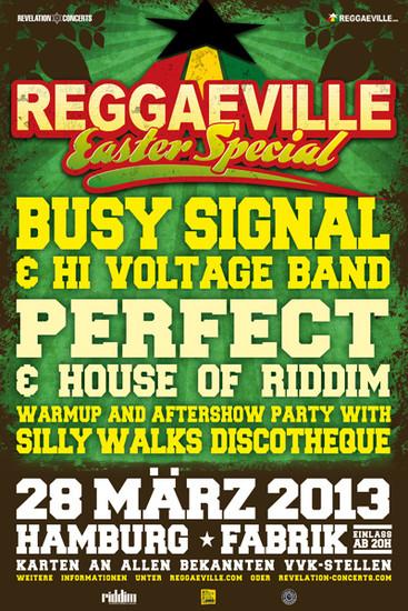 Reggaeville Easter Special - Hamburg 2013