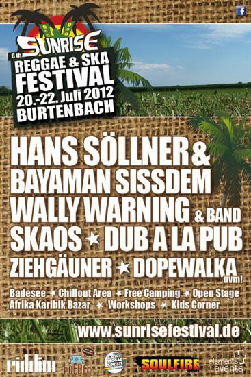 Sunrise Reggae & Ska Festival 2012