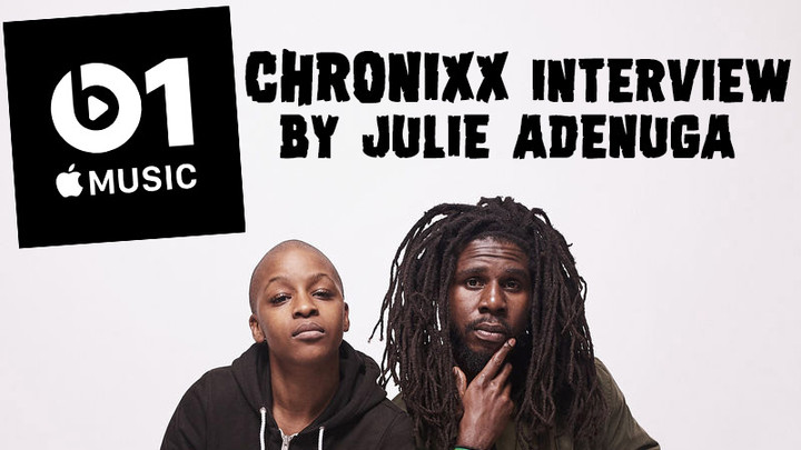 Chronixx Interview by Julie Adenuga @ Beats1 - Apple Music [11/8/2018]
