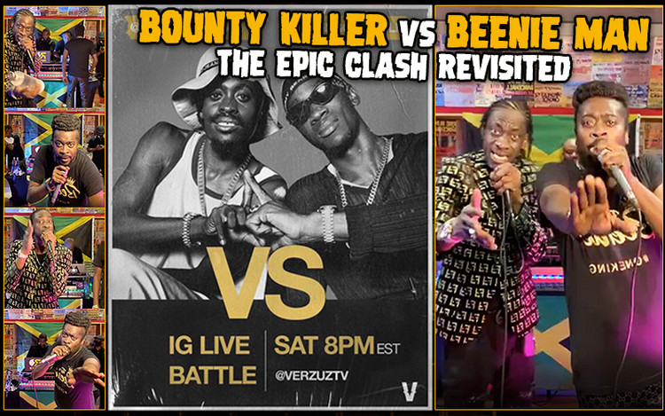Bounty Killer vs. Beenie Man @ Verzuz TV - The Epic Clash Revisited