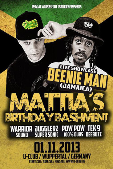 Mattia's Birthday Bashment 2013