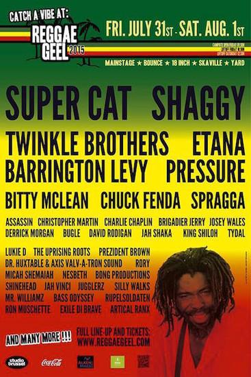 Reggae Geel 2015