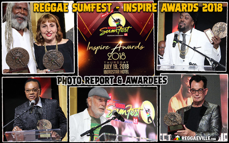 Photo Report & Awardees: Reggae Sumfest - Inspire Awards 2018