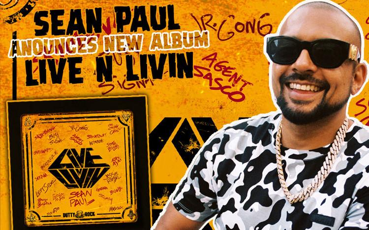 Live N Livin - Sean Paul Announces New Album