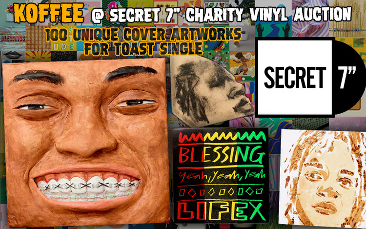Koffee's Toast gets 100 Unique Cover Artworks for Charity Vinyl Single