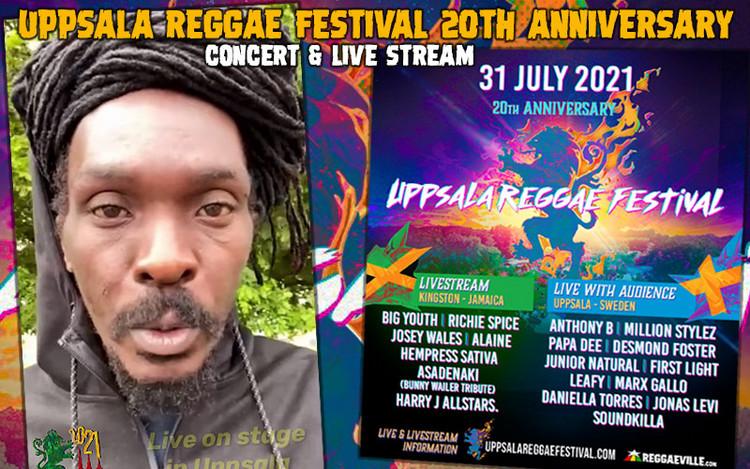 Uppsala Reggae Festival 20th Anniversary - Concert & Live Stream