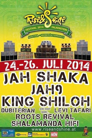 Rise & Shine Festival 2014