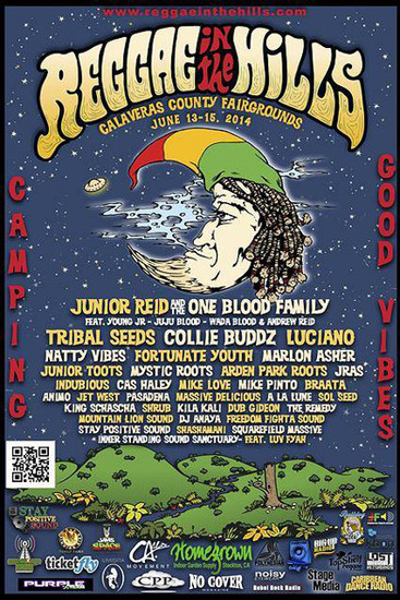 Reggae In The Hills 2014