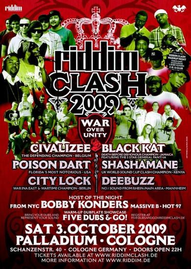 Riddim Clash 2009