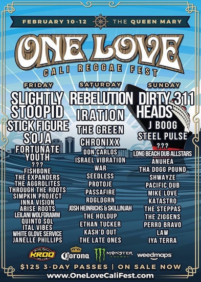 One Love Cali Reggae Fest 2017