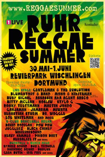 Ruhr Reggae Summer - Dortmund 2014