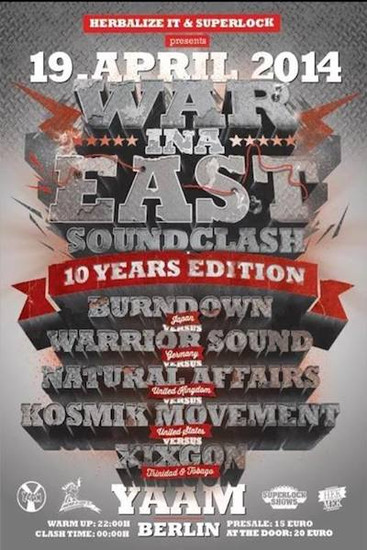 War Ina East 2014