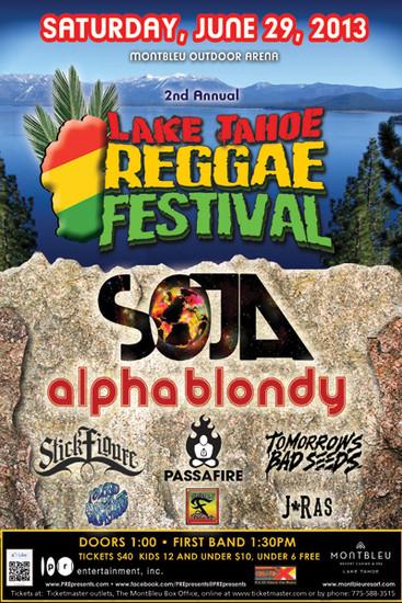 Lake Tahoe Reggae Festival 2013