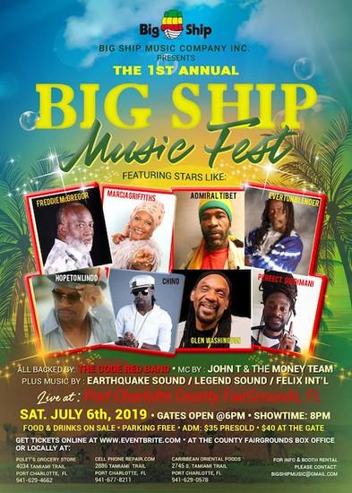 Big Ship Music Fest 2019