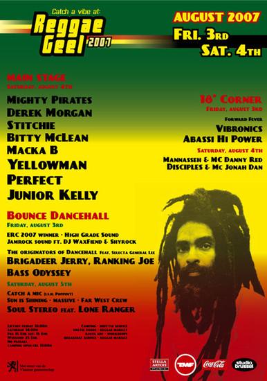 Reggae Geel 2007