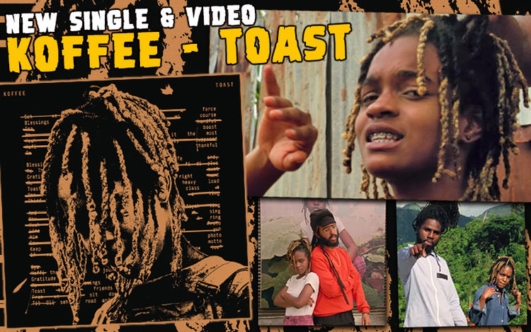 Koffee Releases Toast From Upcoming Rapture EP