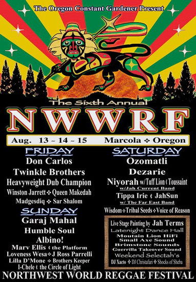 NW World Reggae Festival 2010