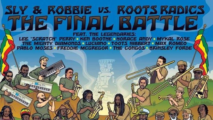 Sly & Robbie vs. Roots Radics - The Final Battle (Full Album) [4/15/2019]