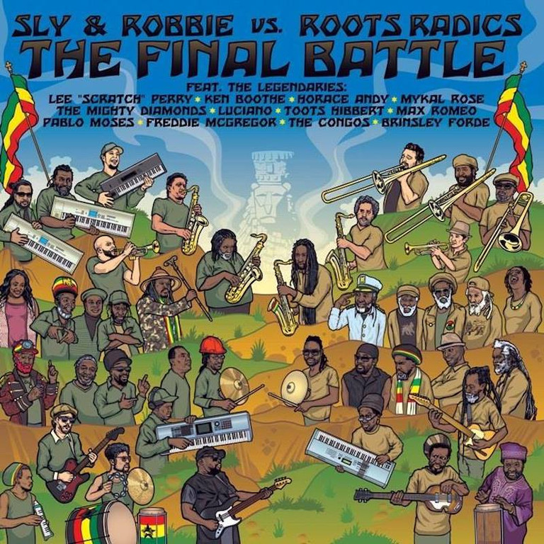 Release Sly Amp Robbie Vs Roots Radics The Final Battle