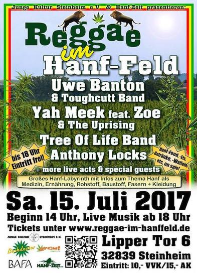 Reggae im Hanf-Feld 2017