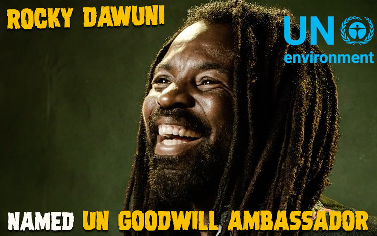 Rocky Dawuni Designated as UN Goodwill Ambassador