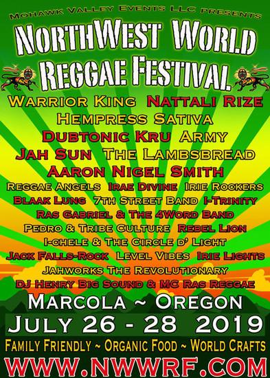 NW World Reggae Festival 2019