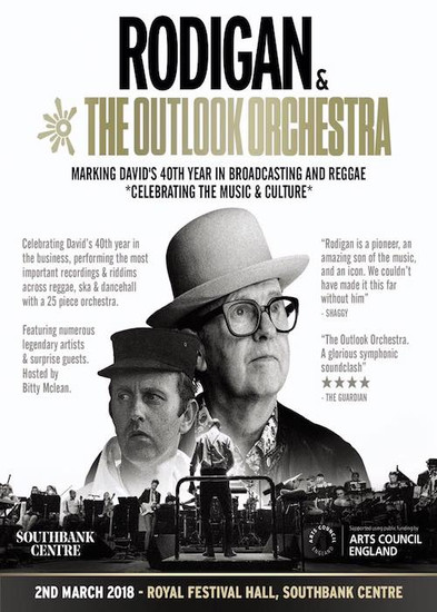 Rodigan & The Outlook Orchestra 2018