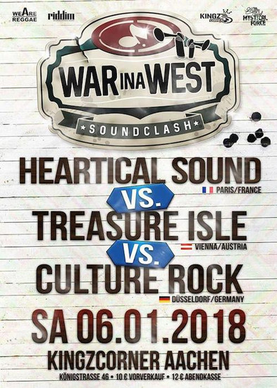 War Ina West Soundclash 2018