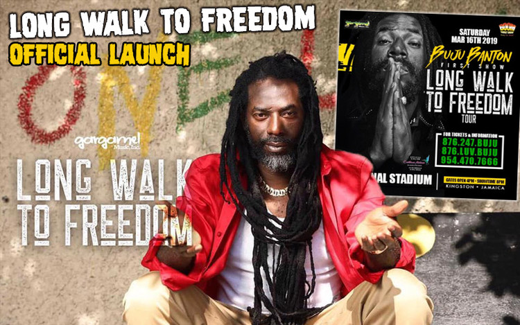 Buju Banton - Official Launch Long Walk To Freedom Tour