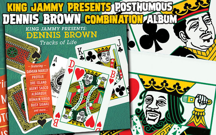 King Jammy Presents Posthumous Dennis Brown Combination Album