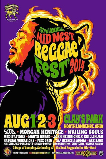 Mid West Reggae Fest 2014