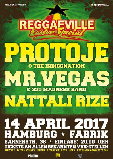 Reggaeville Easter Special - Hamburg 2017