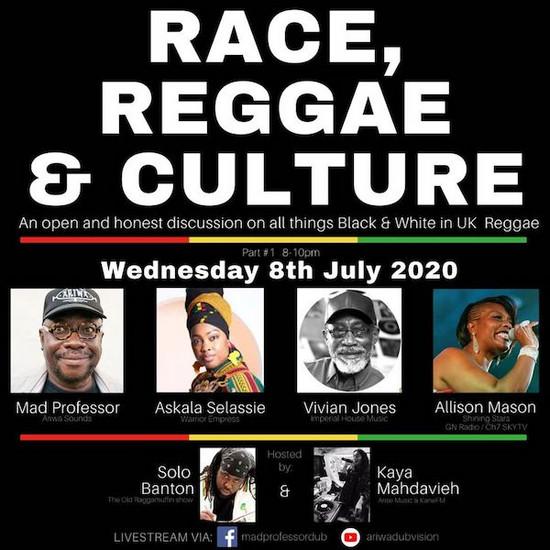 Race, Reggae & Culture - Live Discussion #1 2020