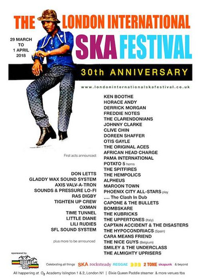 London International Ska Festival 2018