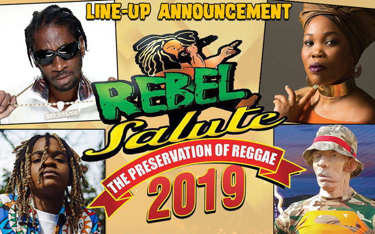 Rebel Salute 2019 - Line-Up Announcement