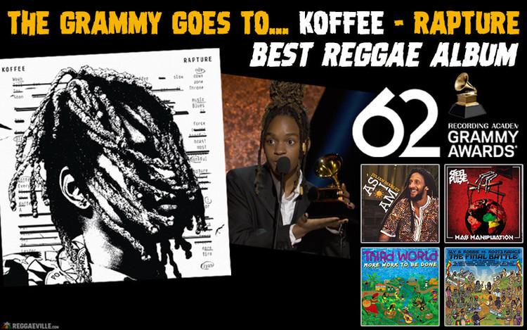 Grammy for Koffee! Best Reggae Album 2019 is Rapture
