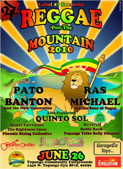Reggae Pon The Mountain 2010
