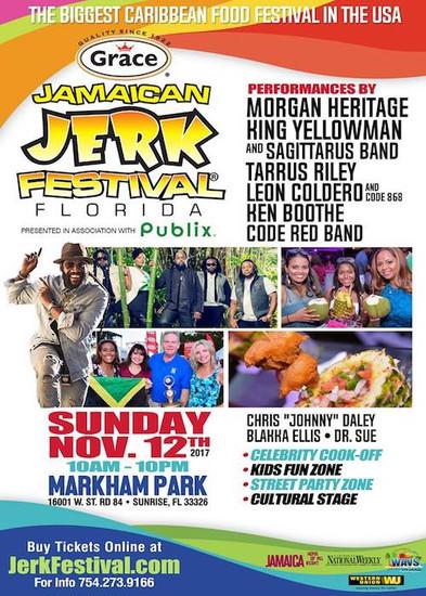 Jamaican Jerk Festival - Florida 2017
