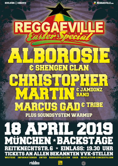 Reggaeville Easter Special - Munich 2019