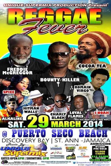 Reggae Fever 2014