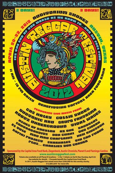 Austin Reggae Festival 2012