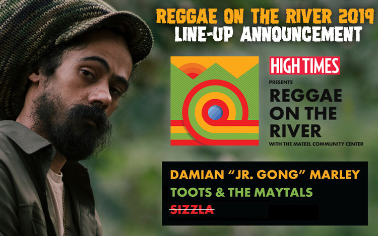 Reggae On The River 2019 Line-Up Announcement - Sizzla Cancelled!