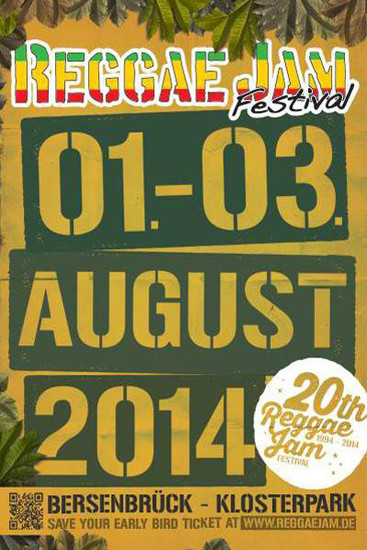 Reggae Jam 2014