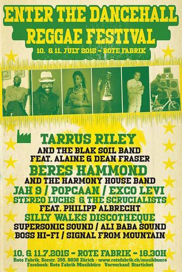 Enter The Dancehall Reggae Festival 2015